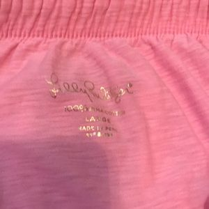 Lilly Pulitzer Tops - LILLY PULITZER STRAPLESS TOP SIZE L